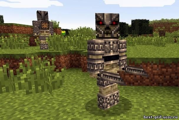 Мод изменит и оживит весь мир minecraft