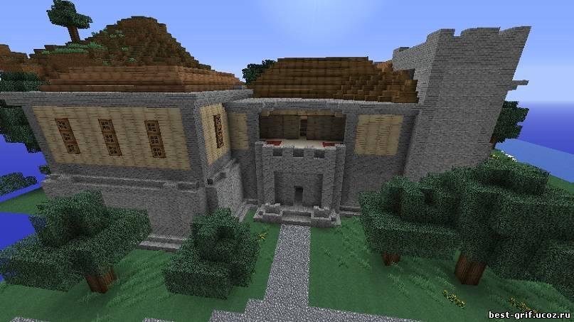 Карта Механический дом для minecraft